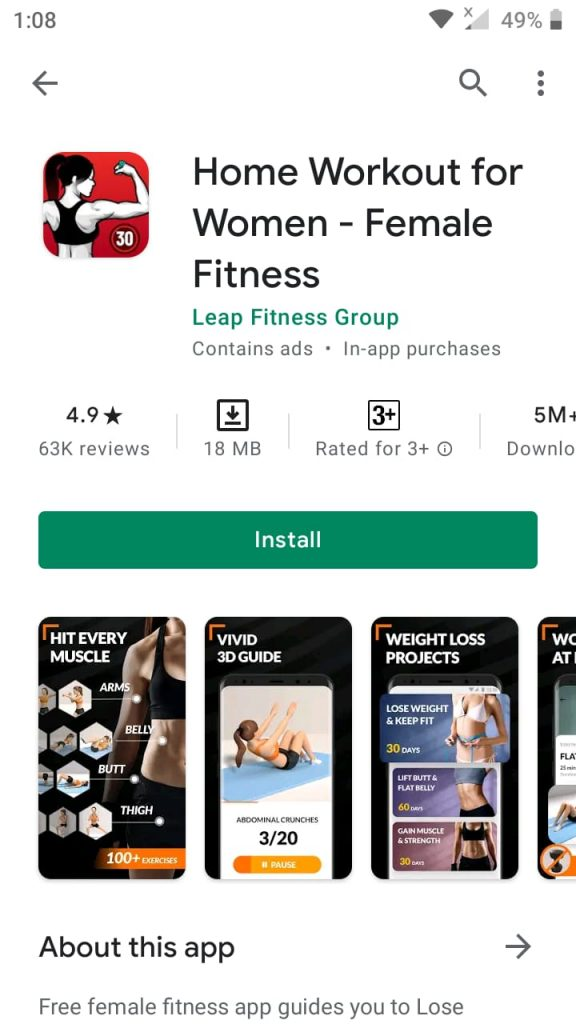 best free fitness apps 2021