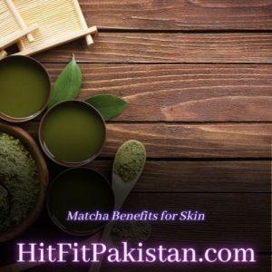 matcha benefits for skin